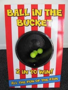 Ball In The Bucket Game (Side Stall Game) - Bouncy Castles & Soft Play Hire In Wolverhampton, West Mids in Wolverhampton, Walsall, Bilston, West Midlands, Cannock, Dudley, Willenhall