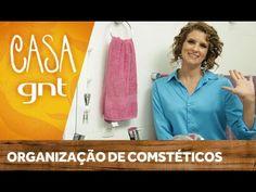 Como organizar cosméticos e maquiagem   Micaela Góes - YouTube
