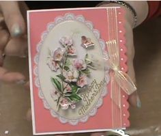 Scrapbooking Made Simple Youtube # 119 Demos and Sa . mples of Docrafts Anita's Foiled Decoupage.