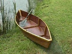 How to build your own classic Cajun Pirogue (The pirogue is an ancient hybrid cross between a skiff and a canoe. It can be paddled like a canoe or poled while standing - designed to negotiate both open lakes and extremely shallow waters.)