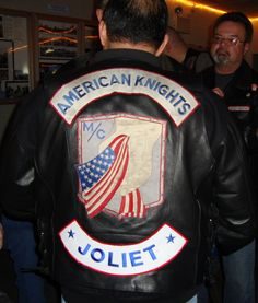 American Knights MC Colors