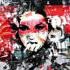 "Morgan Paslier • ""Uda - 2 madonna"" • Photographie numérique sur aluminium • KAZoART  #art #artcontemporain #contemporarart #oeuvre #popart #galeriedart #artgallery #madonna #photographie #photography"