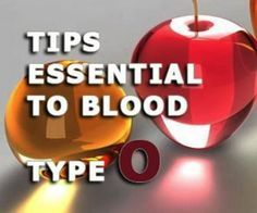 Tips essential to blood type O