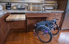 Creating wheelchair accessible home will provide easy maneuvering living space and promote independent living. Follow these tips for wheelchair accessible home.