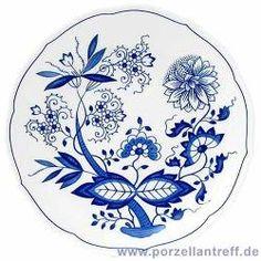 Hutschenreuther 'Blau Zwiebelmuster' Tee Untertasse