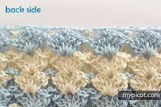 MyPicot is always looking for excellence and intends to be the most authentic, creative, and innovative advanced crochet laboratory in the world. Crochet Bebe, Free Crochet, Crochet Ideas, Afghan Crochet Patterns, Crochet Stitches, Baby Blanket Crochet, Crocheted Afghans, Stitch Design, Yarn Crafts