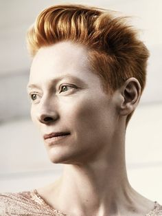 How can I pull off this hair? Tilda Swinton