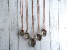 Raw crystal necklace | Electroformed crystal necklace | Raw crystal necklace | Rough quartz crystal pendant | Raw gemstone jewelry by HAWKHOUSE on Etsy https://www.etsy.com/listing/227454677/raw-crystal-necklace-electroformed