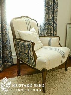 combinatie stoel en gordijnen !