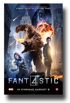 . #Fantastic4Poster #FantasticFourPoster #Fan4 available at  http://concertposter.org/fantastic-4-movie-promo-flyer-poster-four-film-2015-fire-2/