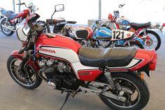 OldMotoDude: 1983 Honda on display at the 2018 Motorcycle Classics Bike Show -- Tooele, Utah. Honda Motorcycles, Vintage Motorcycles, Honda Cb, Street Bikes, Dirt Bikes, Custom Bikes, Utah, Display, Classic