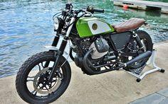 Moto Guzzi brat motorcycle