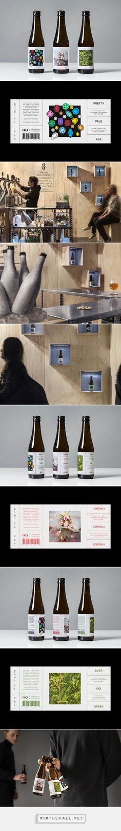 Packaging for O/O Brewing by Lundgren+Lindqvist - created via http://pinthemall.net