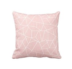 11 Sizes Available: Blush Pink Pillow Cover Pink Throw Pillow