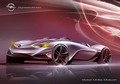 Victor Uribe Chacon Opel Speedster concept
