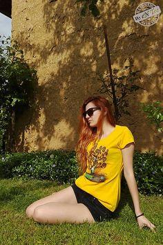 entee / Strom - dámske tričko ala Klimt