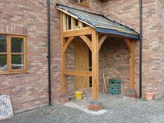 Quiet car porch design this contact form Front Door Canopy, Porch Canopy, Canopy Bedroom, House With Porch, House Front, Front Porch, Car Porch Design, Porch Designs, Porch Gable