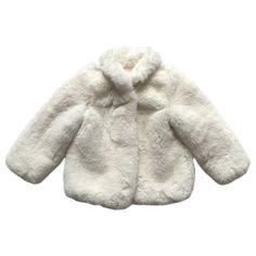 'baroness' plush faux fur lined little girls coat   aubrie australia   aubrie.com.au