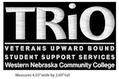 Embroidery Wheeled backpack project - Western NE Comm College, Veterans Upward Bound, 07/05/2013. http://proformatrioideas.com/ #TRIO #TRIOWorks
