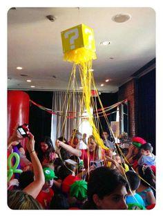 Super Mario Bros Birthday Party Ideas | Photo 6 of 30 | Catch My Party