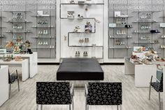 S-shaped Perimeter Shoe Fixture by JPMA at Belk – Dallas Galleria Shopping Mall, Dallas – Texas Shop Interior Design, Retail Design, Shoe Store Design, Concept Shop, Concept Board, Kids Furniture, Wooden Furniture, Office Furniture, Furniture Design
