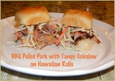 Easy BBQ Pulled Pork Crock Pot Recipe