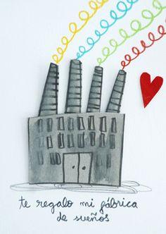 Fábrica de sueños | Láminas originales | Anna Llenas