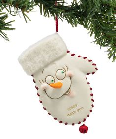 Look at this #zulilyfind! Crazy Bout You Mitten Ornament #zulilyfinds