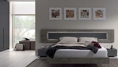 Cabezal Respaldo cama modelo Renamy - Nuko Muebles