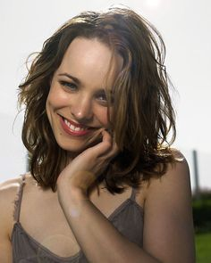 The beautiful smile of cutie Rachel McAdams!
