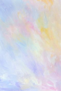Download free image of Colorful abstract pastel watercolor background