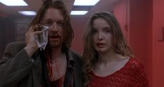 Eric Stoltz and Julie Delpy in Killing Zoe Directed by Roger Avary Famous Movies, Iconic Movies, Good Movies, Julie Delpy, Series Movies, Movies And Tv Shows, Eric Stoltz, Underground Film, Film Aesthetic