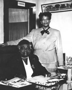 Mary McLeod Bethune (1875-1955) was an educator, civil rights activist, and political advisor to multiple US presidents. #womenshistory