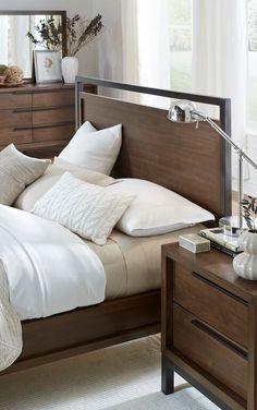 Prague Bed Sideview Modus Furniture Prague Bedroom Set - Prague bedroom furniture set