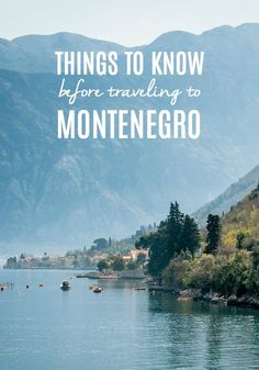 Montenegro is a sovereign state located in southeastern Europe. The name literally translates to Black Mountain. A part of its coast is along the Adriatic Sea while it also shares borders with several other countries including Croatia, Serbia, Albania and Bosnia and Herzegovina. Plan your trip to Montenegro with these useful tips: