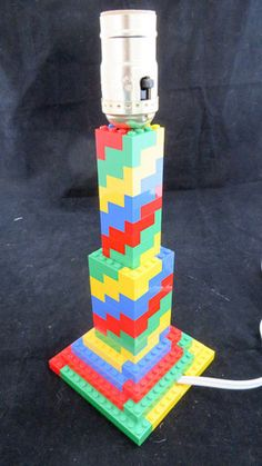 LEGO Spiral Lamp – MR Brick Designer