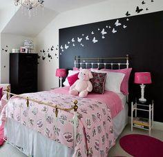 decora el cabecero de la cama con mariposas y pintura paperblog