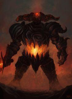 Smelter Demon by Inkyh on DeviantArt