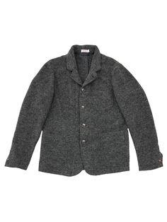 Dark grey felt jacket. #SUN68 #SUN68xmas #newyear #happynewyear #party #jacket #felt #giftideas #xmas