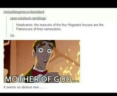 Only possible explanation for ravenclaw