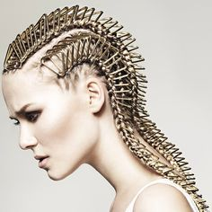 Inspiring hair? See the #bha2013 collections first at HJi.co.uk #hair #braids