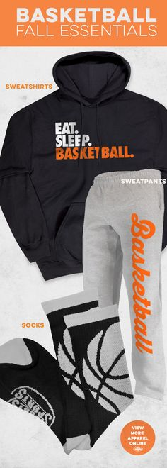The weather is changing. Stay warm - or just relax - in these fall basketball essentials. Choose from sweatshirts, sweatpants, lounge pants, woven socks and more.