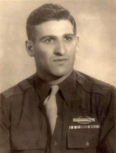This was Capt. Harold Sandler when he served in Patton's 3rd Army in Europe during World War II. He received a Silver Star for valor and a Purple Heart for his war wounds. Photo provided
