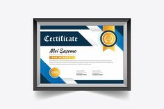 This is our awesome Certificate Design. This Item Is Highly Professional, Clean & Minimalist Design. You Can Use this Design Any Kind of Corporate or Personal Certificate Design Template, Text Tool, Stationery Templates, Letterhead, Minimalist Design, School Certificate, How To Draw Hands, Feelings, Awesome