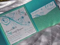 Frozen Inspired Wedding Invitation   by MagicBeyondMidnight, $10.25