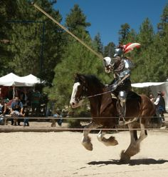 Watching two jousters ride full tilt at each other on horseback with spears beats the hell out of any Super Bowl in recent memory.