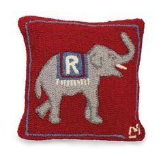 Republican Elephant Pillow