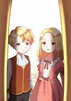 Manhwa Manga, Anime Manga, Siblings, Twins, Twin Brothers, Fantasy Dress, Willow Tree, New Life, Webtoon