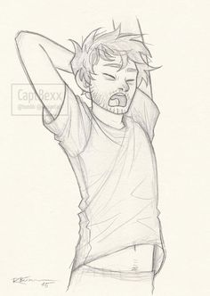 Sleepy Cas by CaptBexx.deviantart.com on @DeviantArt