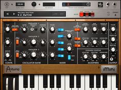 Arturia initiates iOS 7 support with their iMini iPad app update. The iMini V1.2 is an authentic recreation of the 1971-vintage Minimoog mon...